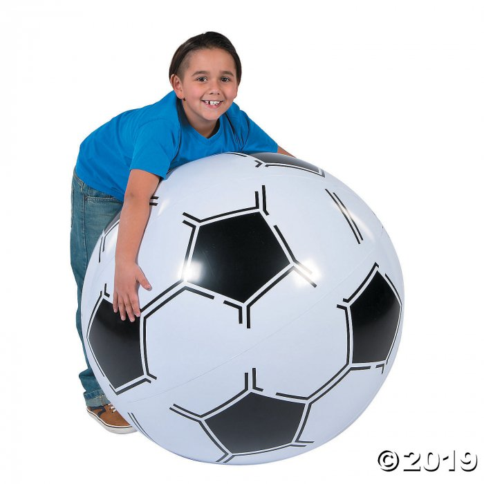 "Inflatable 30"" Sports VBS Extra Large Soccer Ball (1 Piece(s))"