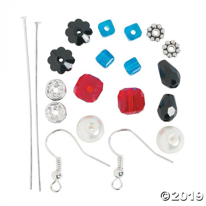 Nutcracker Beaded Earring Craft Kit (6 Pair)