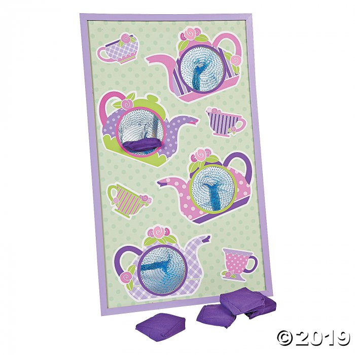 Tea Party Bean Bag Toss Game (1 Set(s))