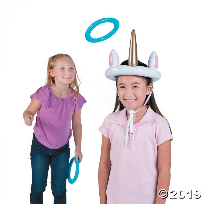 Inflatable Unicorn Ring Toss Game (1 Set(s))