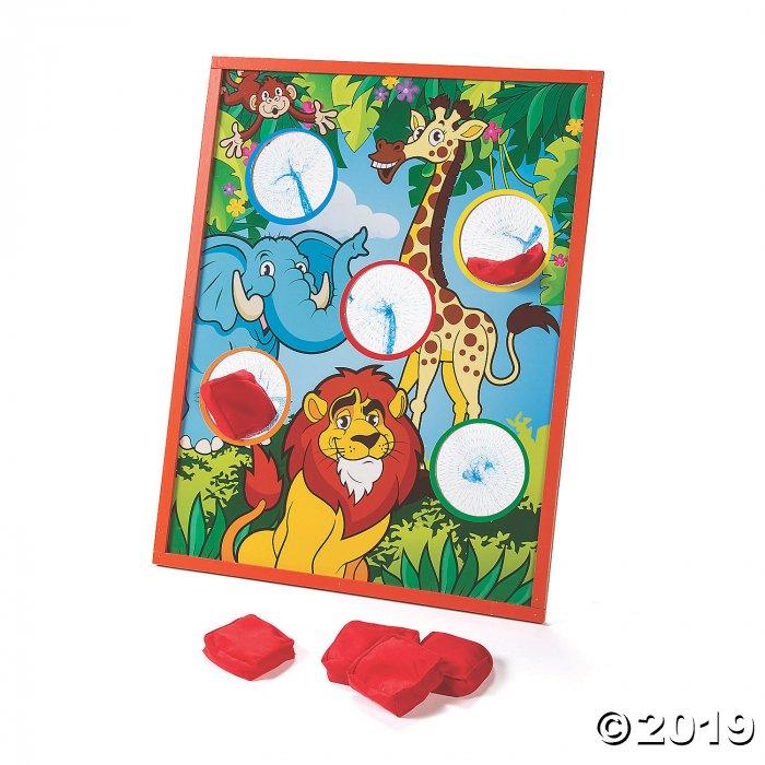 Zoo Animal Bean Bag Toss Game (1 Set(s))