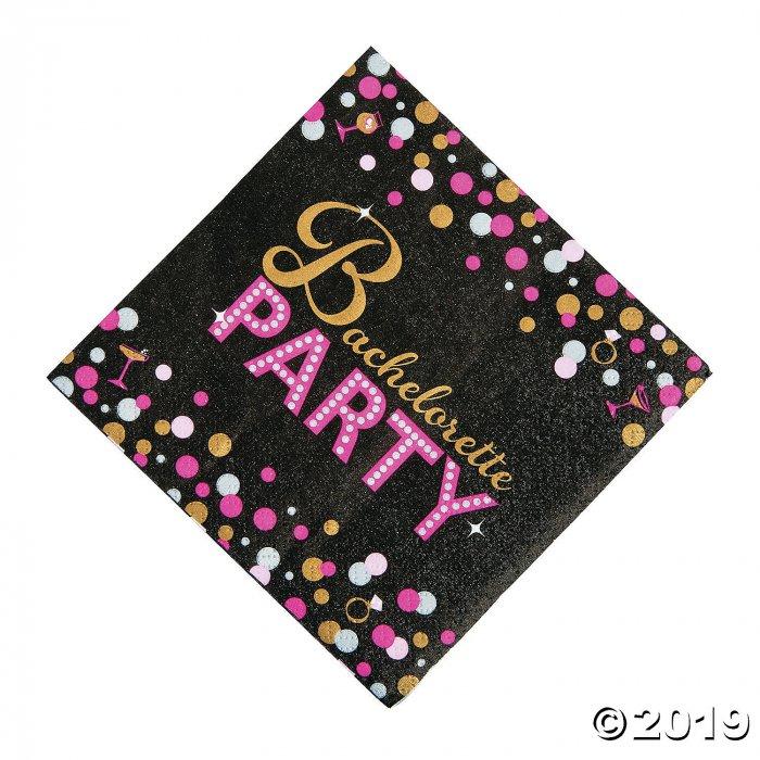Bachelorette Party Beverage Napkins (16 Piece(s))