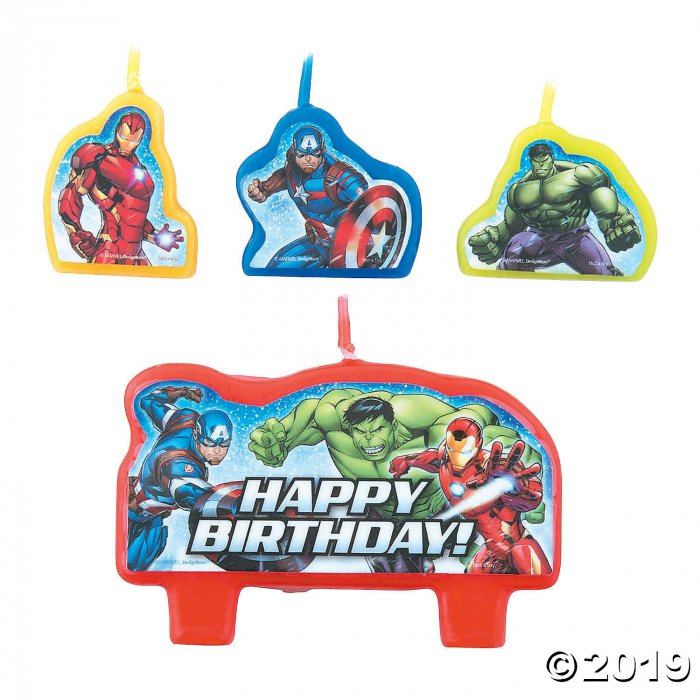 Marvel Avengers™ Candle Set (1 Set(s))