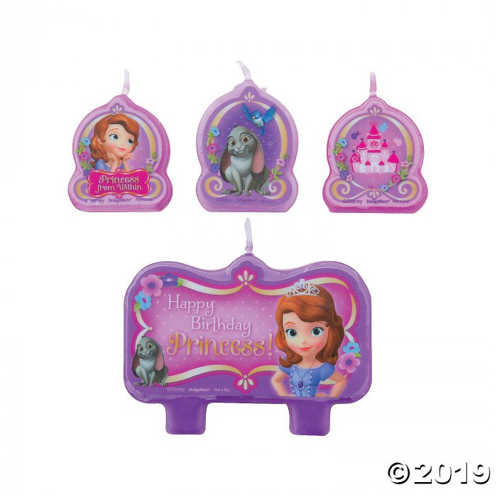 Disney's Sofia the First Birthday Candles (1 Set(s))