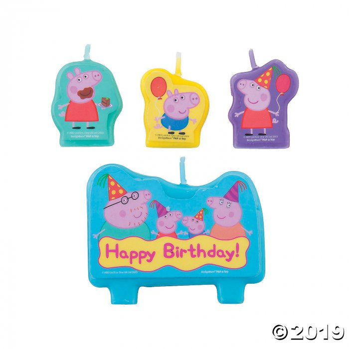 Peppa Pig™ Birthday Candle Set (1 Set(s))
