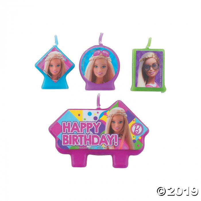 Barbie Sparkle™ Birthday Candle Set (4 Piece(s))