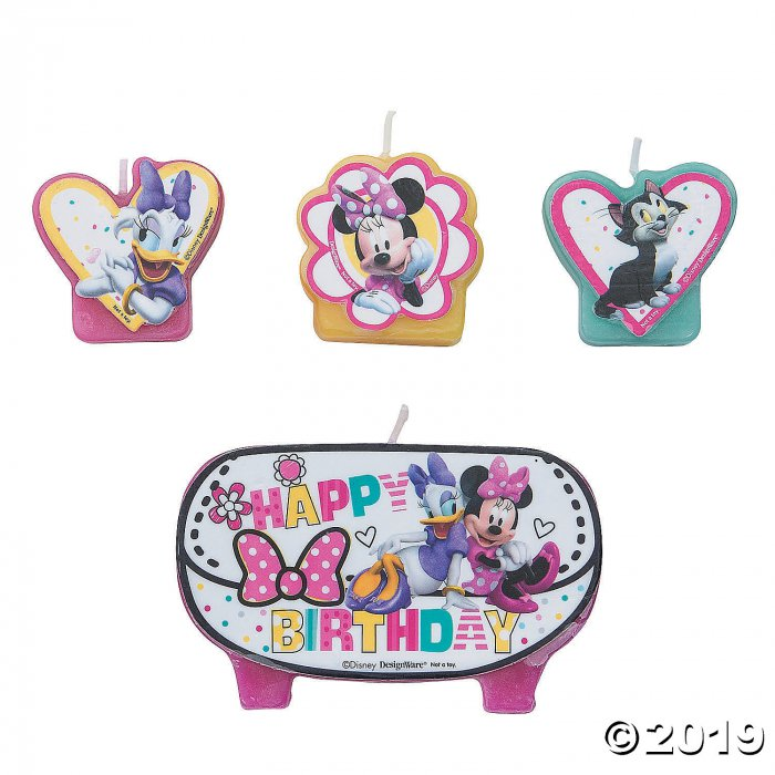 Disney Minnie's Happy Helpers Birthday Candles (1 Set(s))