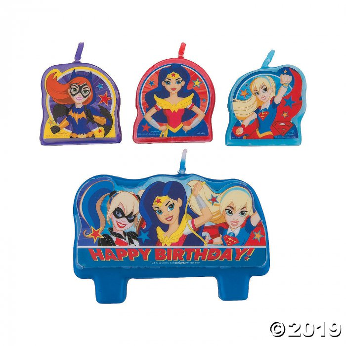DC SuperHero Girls™ Candle Set (1 Set(s))