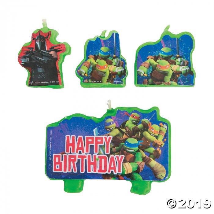 Teenage Mutant Ninja Turtles Birthday Candles (1 Set(s))