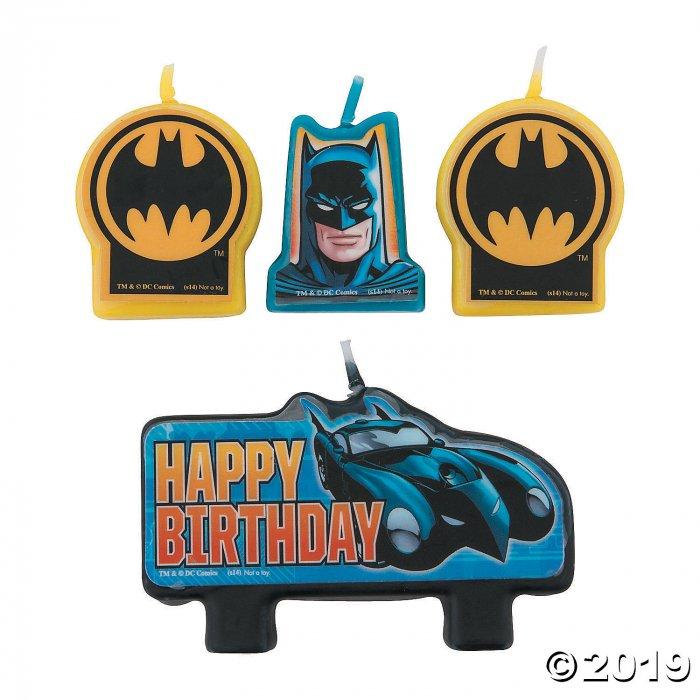 Batman Birthday Candles (4 Piece(s))