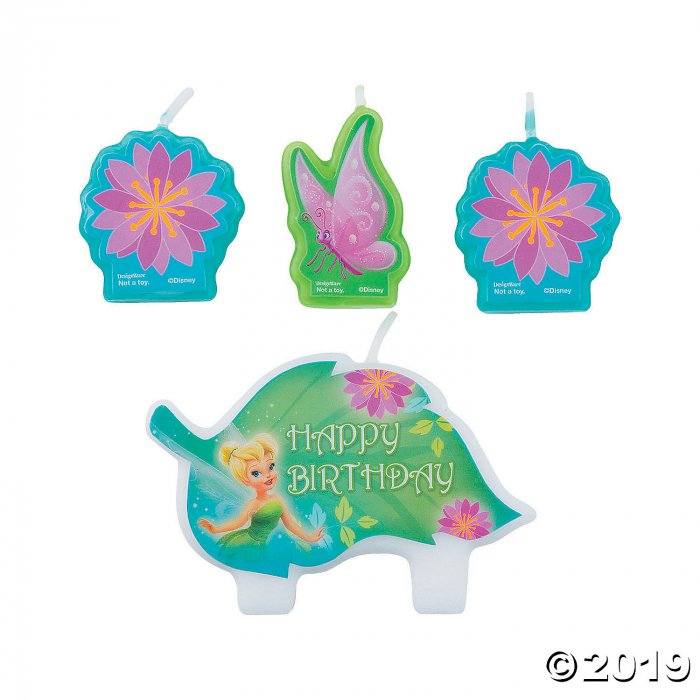 Disney Fairies Tinker Bell Birthday Candles (1 Set(s))