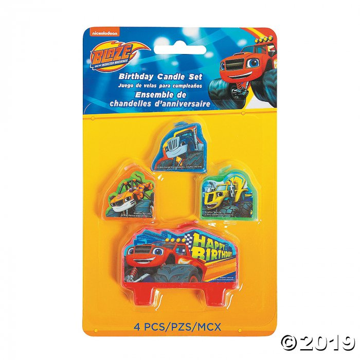 Blaze and the Monster Machines™ Birthday Candle Set (1 Set(s))
