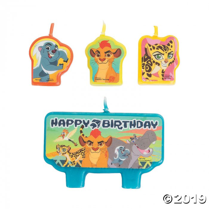 Disney® The Lion Guard Candle Set (1 Set(s))
