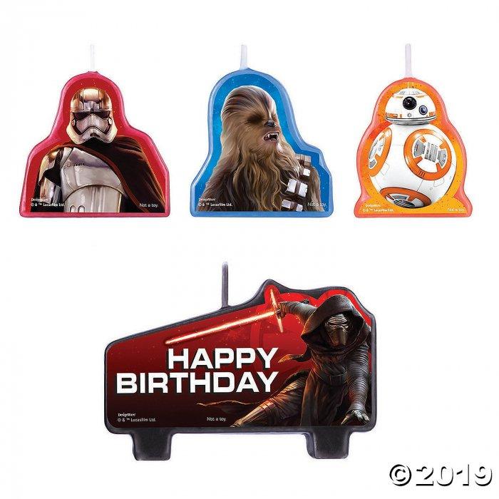 Star Wars™ VII Birthday Candle Set (4 Piece(s))