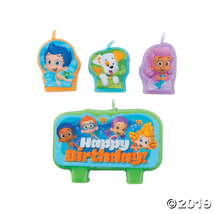 Bubble Guppies™ Birthday Candles (4 Piece(s))