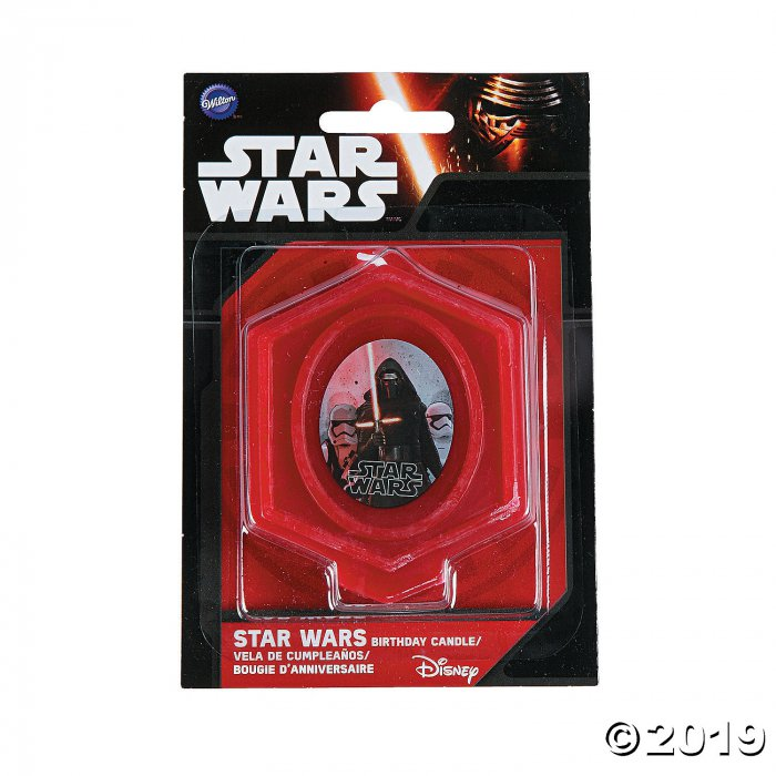 Star Wars™ Episode VII: The Force Awakens Birthday Candle (1 Piece(s))