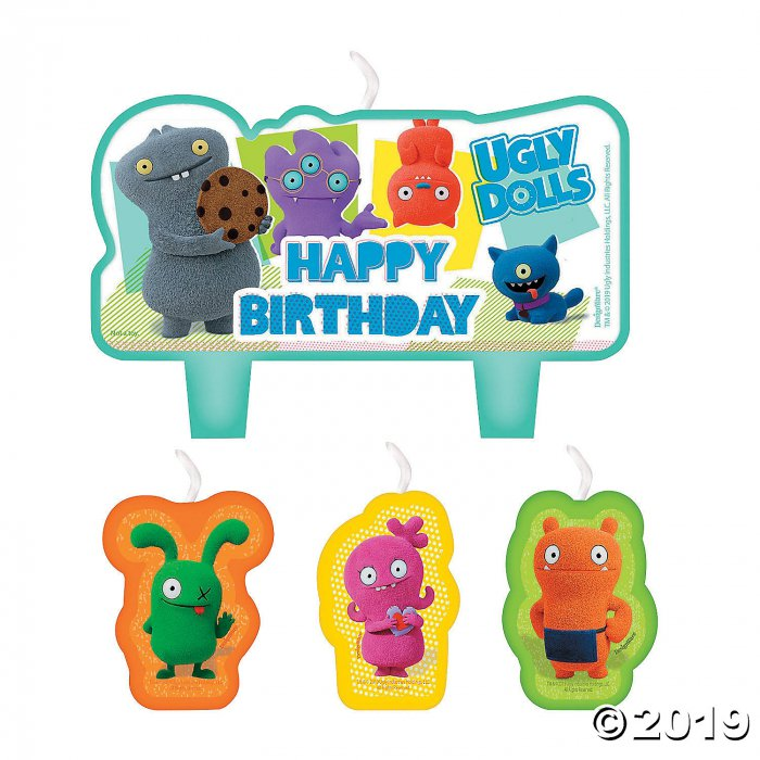 UglyDolls Birthday Candles (1 Set(s))