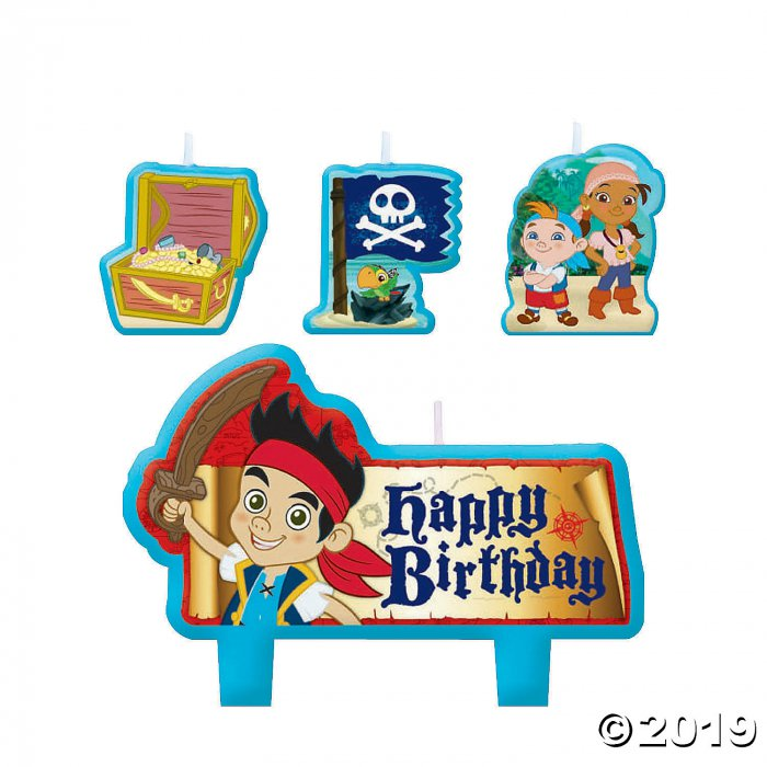 Jake & the Neverland Pirates Birthday Candles (1 Set(s))