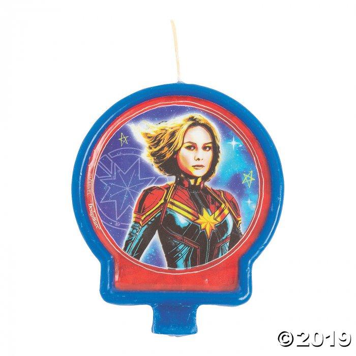 Captain Marvel™ Birthday Candle (1 Piece(s))