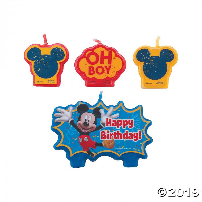 Mickey & Friends Birthday Candles (1 Set(s))