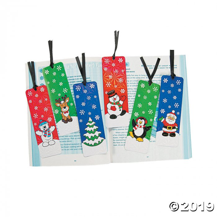 Holiday Bookmarks with Activities (24