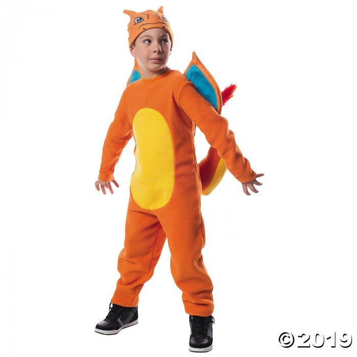 Kid's Pokémon Charizard Costume (1 Piece(s))