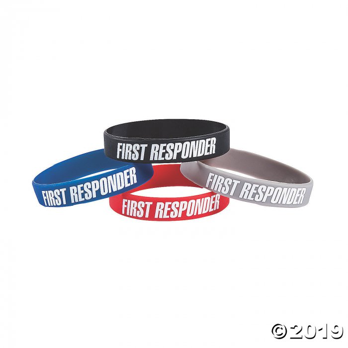 First Responder Awareness Bracelets (24 Piece(s))