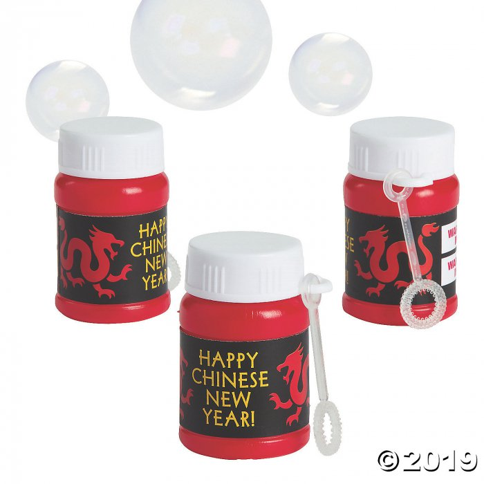 Chinese New Year Bubble Bottles (24 Piece(s))