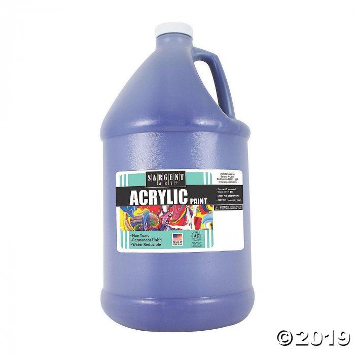 Sargent Art® Acrylic Paint, Blue, 64 oz Bottle (1 Piece(s))