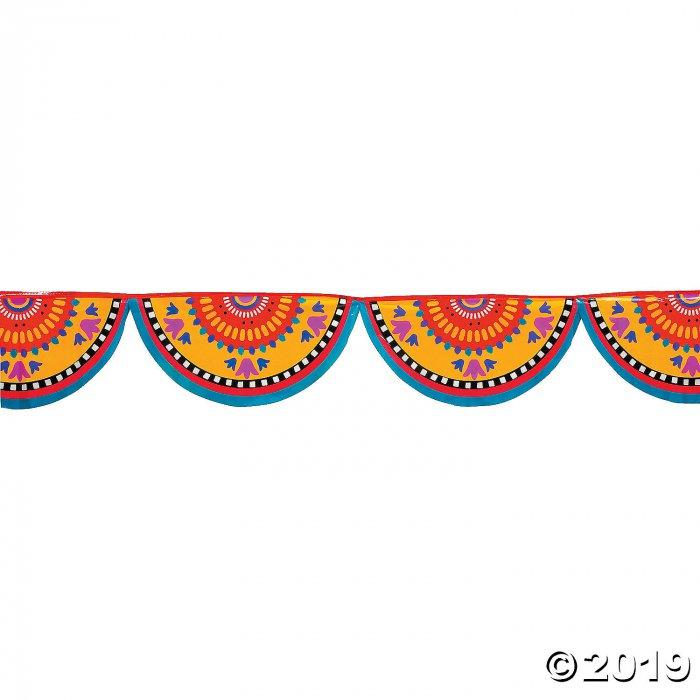 Plastic Fiesta Banner (1 Piece(s))