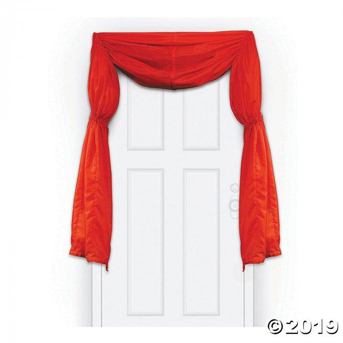 Movie Night Red Door Curtain (1 Piece(s))
