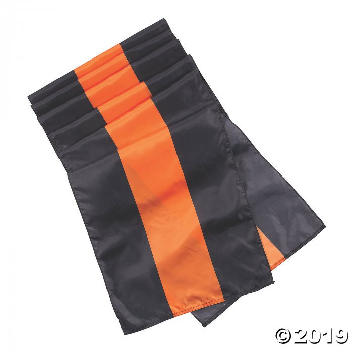 Black & Orange Bunting Halloween Décor (1 Piece(s))