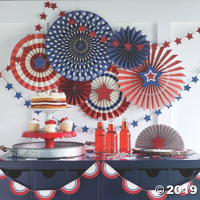 My Mind's Eye™ Patriotic Bunting Banner (1 Piece(s))
