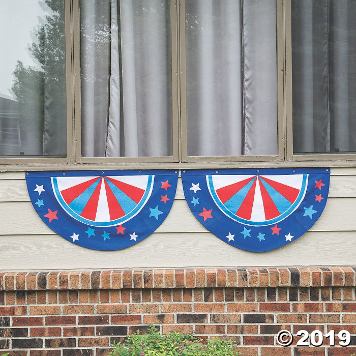Patriotic Bunting with Stars (1 Piece(s))