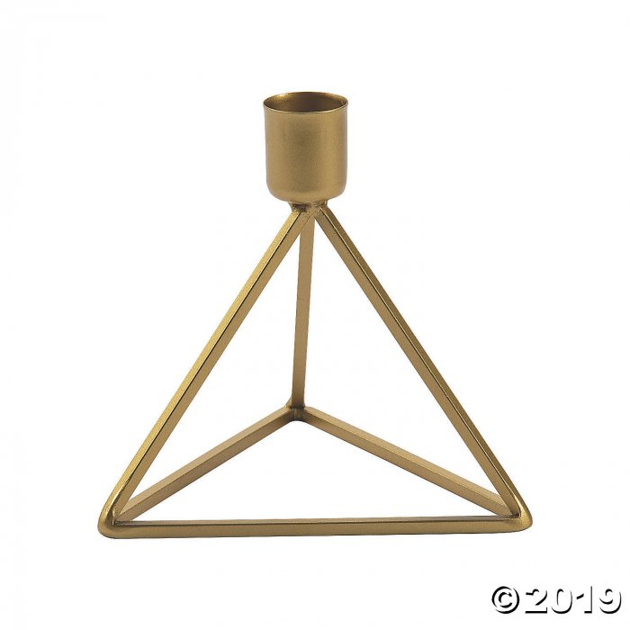 Gold Taper Candle Holders (1 Set(s))