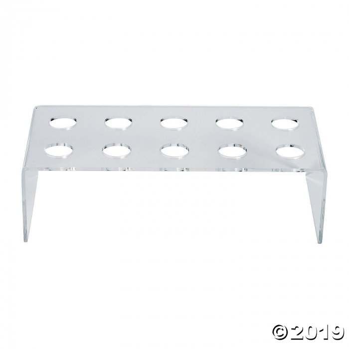 Clear Treat Stand with Holes (1 Piece(s))