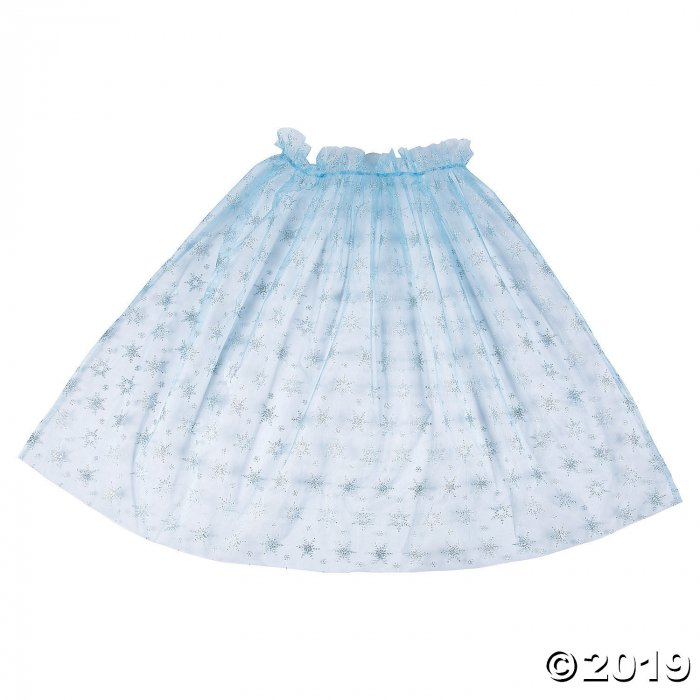 Blue Ice Princess Cape (1 Piece(s))