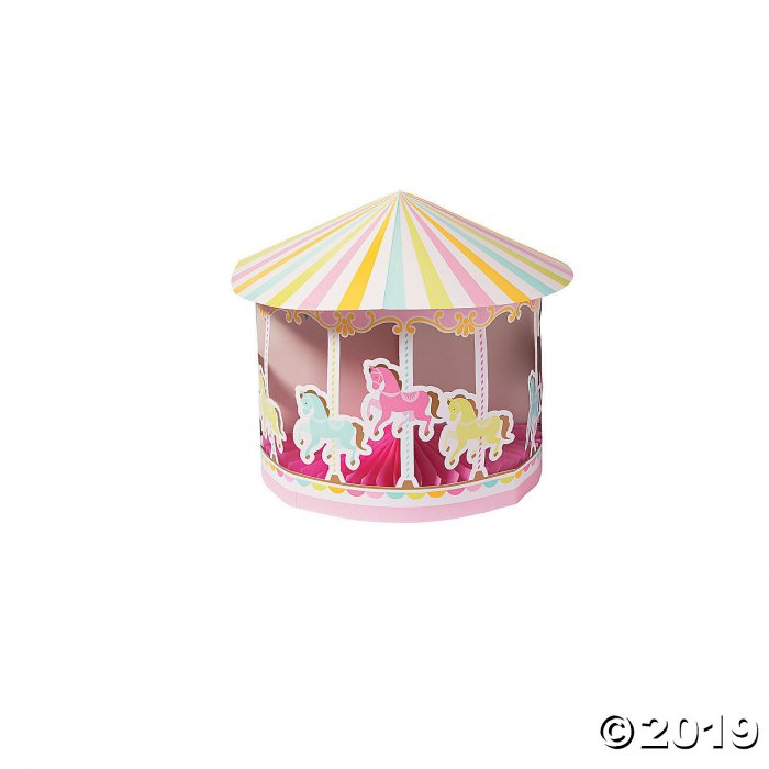 Carousel Baby Shower Centerpiece (1 Piece(s))