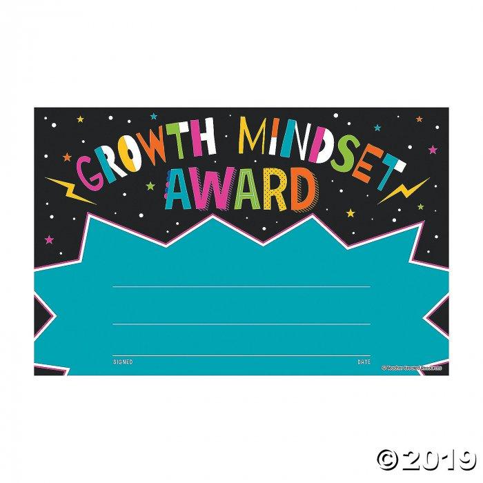 Growth Mindset Award Certificates (30 Piece(s))