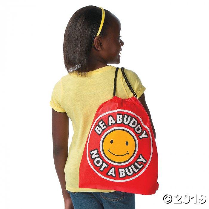Medium Anti-Bullying Drawstring Bags (Per Dozen)