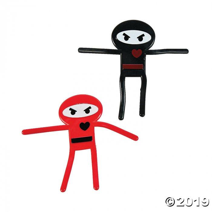 Valentine Ninja Bendables (24 Piece(s))