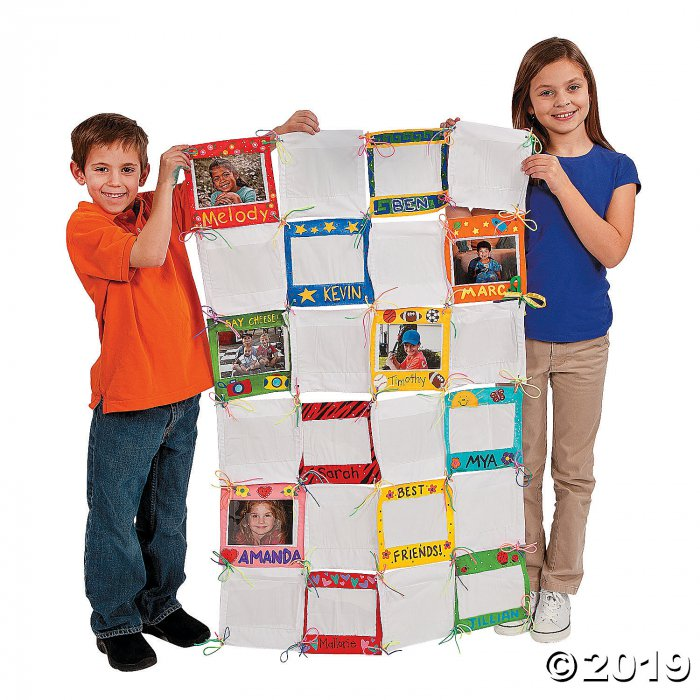 DIY Look It's Me Photo Classroom Quilt (Makes 1)
