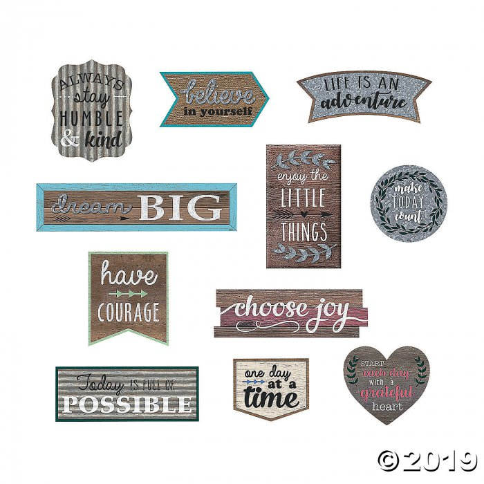 Positive Sayings Clingy Thingies® Wall Clings (11 Piece(s))