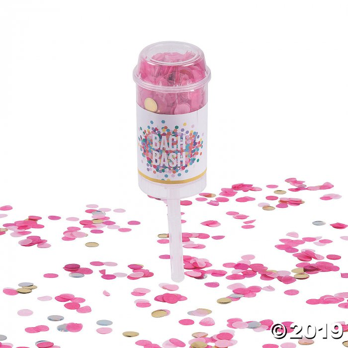 Bachelorette Bash Push-Up Confetti Poppers (2 Piece(s))