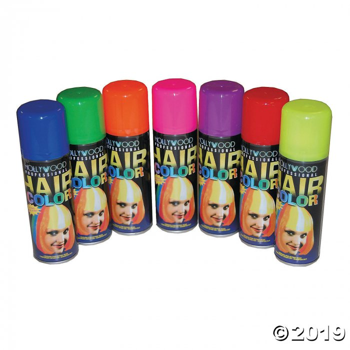 Fluorescent Blue Hairspray (1 Piece(s))