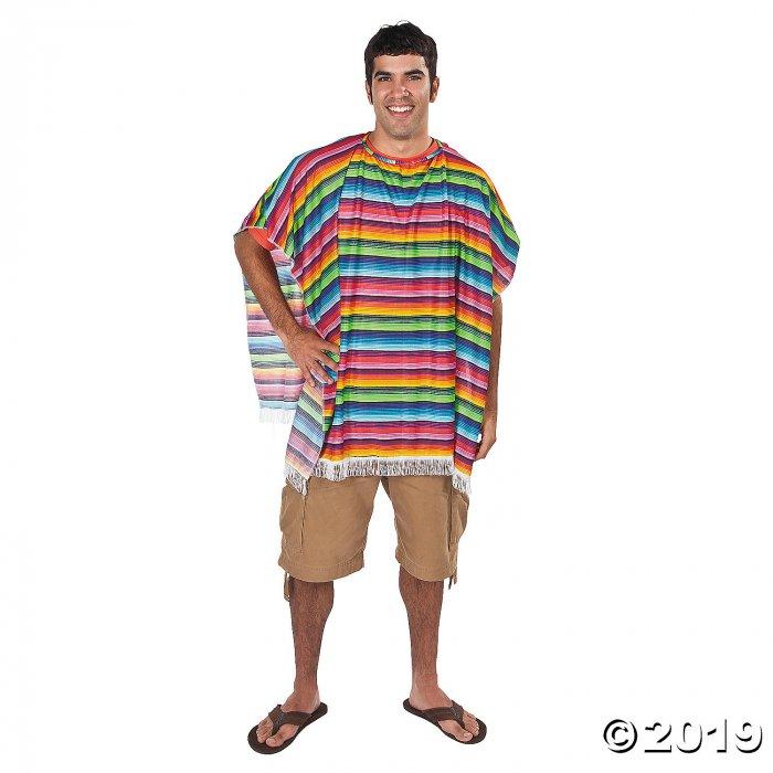 Fun Fiesta Mexican Poncho