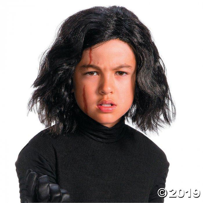 Kid's Star Wars™ Episode VIII: The Last Jedi Kylo Ren Wig with Scar Tattoo (1 Piece(s))