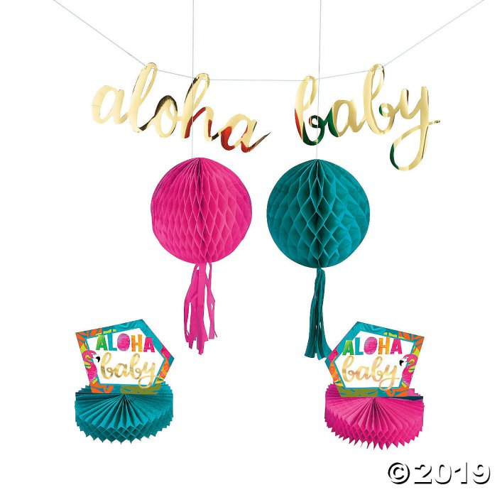 Aloha Baby Shower Décor Kit (1 Set(s))