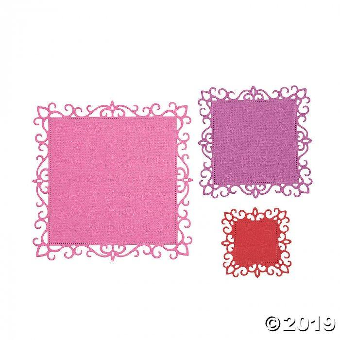 Square Frame Cutting Dies (3 Piece(s))