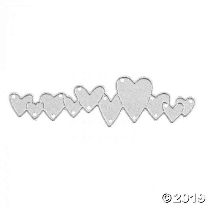 Row of Hearts Cutting Die (1 Piece(s))